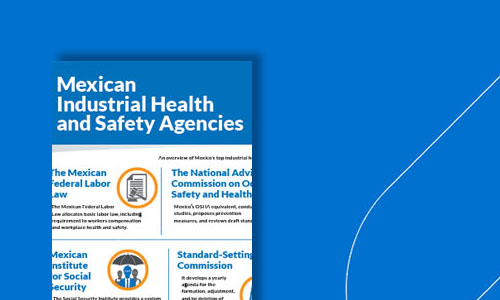 mexican industrial health and safety agencies