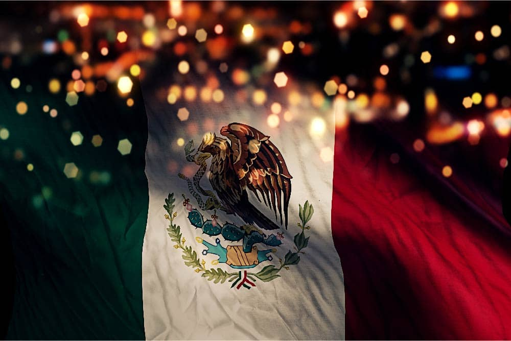 Mexico Manufacturing Flag
