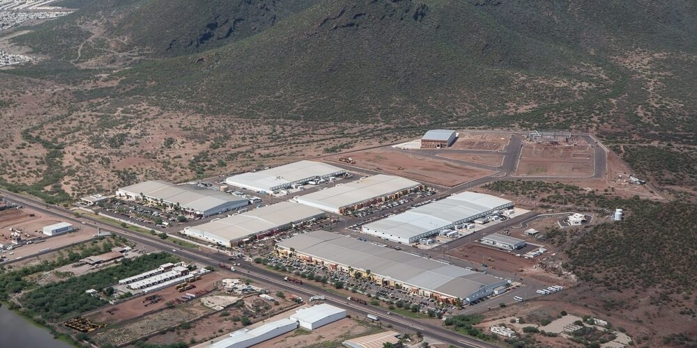 Industrial Park in Guaymas, Sonora, Mexico